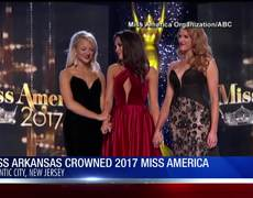 Miss Arkansas crowned 2017 Miss America