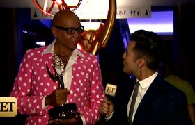 RuPaul Gets Emotional Over First Emmy Win
