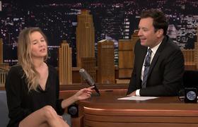 JF - Renée Zellweger Teaches Jimmy Her Seventh Grade Tryout Cheer