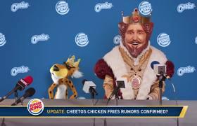 BURGER KING - Chicken Fries (Announcement)