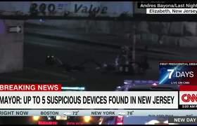 Nuevos vidoe de explosion en New Jersey