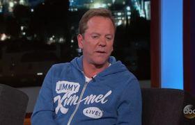 Jimmy Kimmel - Kiefer Sutherland (Interview)