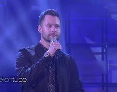 Calum Scott Performs 'Dancing on My Own' On The Ellen Show