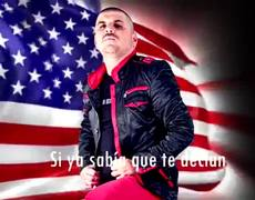 El Komander La Bandera De USA Video Con Letra Oficial