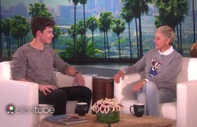 Shawn Mendes Talks Tattoos, Touring, and Making Memories | The Ellen Show