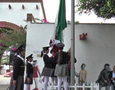 Izamiento oficial de bandera - Ayuntamiento de Tijuana