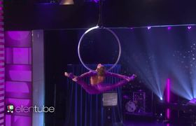 AGT Finalist Sofie Dossi's Gravity-Defying Performance!
