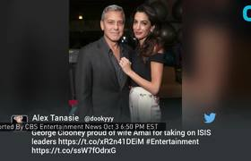 George and Amal Clooney Celebrate 2 Years