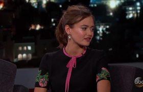 Jimmy Kimmel - Ella Purnell (Interview)