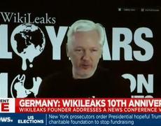 Julian Assange speaks at Wikileaks conference