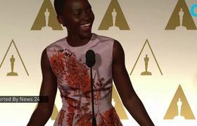 Lupita Nyong'o Visits South Africa