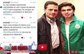 Hijo de Peña Nieto inicia pleito en un bar de San Miguel de Allende.