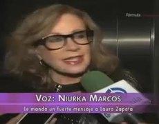 Niurka Marcos ataca a Laura Zapata