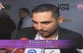 Espinoza Paz cantara temas de Juan Gabriel