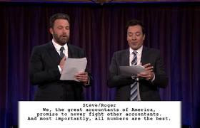 Kid Theater with Ben Affleck   The Tonight Show