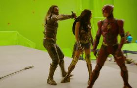 JUSTICE LEAGUE: Behind the Scenes Video (2017) Ben Affleck, Gal Gadot DC Movie