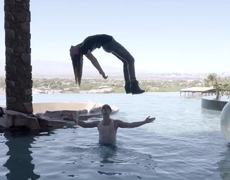 Criss Angel Levitates Belinda Into The Air