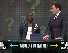 Would You Rather with Kevin Hart - Jimmy Fallon