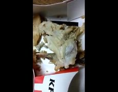 Woman finds worms in KFC food