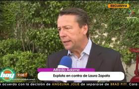 ¡Alfredo Adame explota contra Laura Zapata!