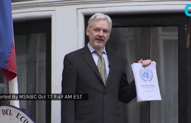 Raw - Assange's Internet 'Severed'