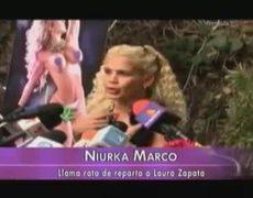 Niurka Marcos llama rata de reparto a Laura Zapata