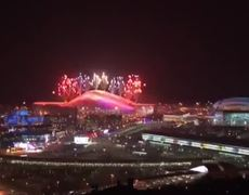 Opening Fireworks of the Winter Games 2014