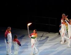 Juegos Olímpicos de Invierno 2014 Encendido de la Antorcha Ceremonia de Apertura