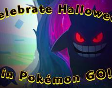 Pokemon Go - Halloween Time