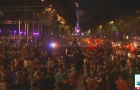 Desfile de Catrinas en la CDMX de Día de Muertos