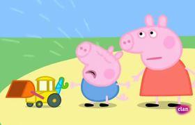 Peppa Pig en Español - Obras en la carretera - Capitulo Completo