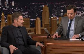 Jimmy Fallon - Ethan Hawke Showers in Jimmy's Embarrassing SNL Jacket