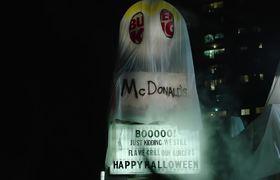 Burger King se disfraza de McDonals para Halloween