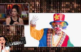 WWHL - Sarah Silverman Discusses Her Fear Of Clowns
