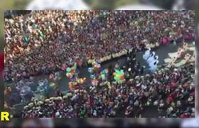 Espectacular desfile de CATRINAS en la Ciudad de México