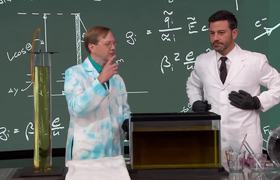 Jimmy Kimmel - Amazing Experiments with Science Bob Pflugfelder