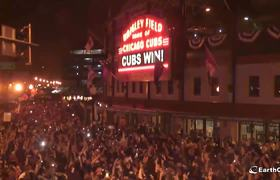 Wrigley Field 2016 Cubs World Series Win