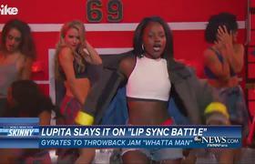 Lupita Nyong'o Slays on Lip Sync Battle