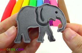 Aprendiendo los colores con Play Doh, Peppa Pig, moldes y mucha diversión