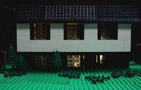 Stranger Things with Lego