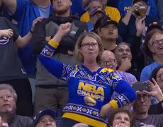 #VIRAL - Mom Dancing at a Basketball Game