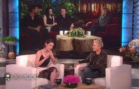 Kristen Stewart habla de 'Crepúsculo' con Ellen