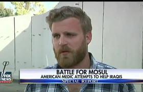 #NEWS - US Marine volunteers as medic in Mosul