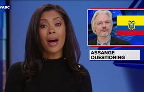 News - Julian Assange Questioned at Ecuadorean Embassy in London