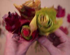 #DIY - Rosas con hojas de maples