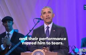 Obama celebrates black music at BET event at White House