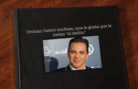 Cristian Castro dice que le gusta que le metan el dedo