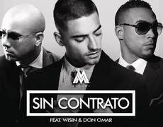 Maluma - Sin Contrato (Remix) ft. Don Omar, Wisin (Official Audio)