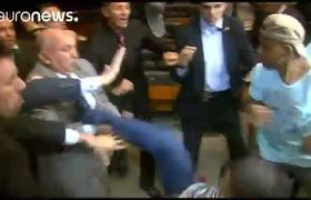 Tensión en Brasil: ocupación de la Cámara de Diputados en Brasilia