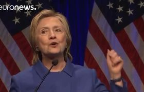 Hillary Clinton reappears in public